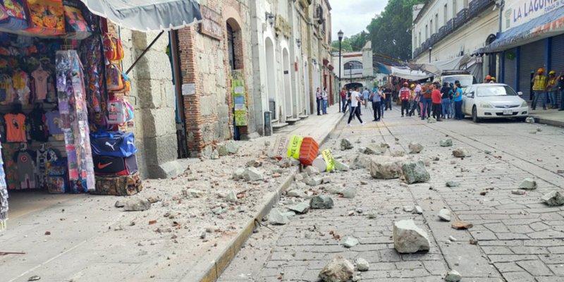 Sismo deja cinco muertos y daños a viviendas enOaxaca