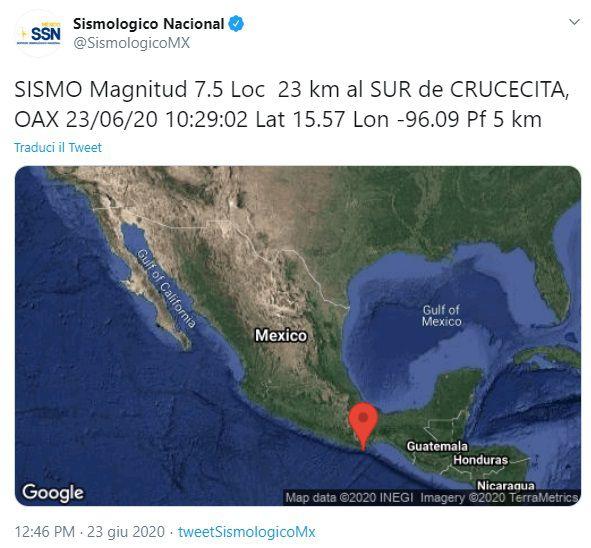 Alerta de tsunami para México, Guatemala, El Salvador y Honduras por sismo en surmexicano