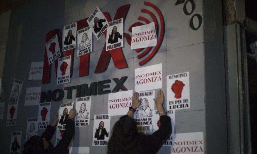 Agencia estatal mexicana Notimex frena actividades por huelga de trabajadoresdespedidos