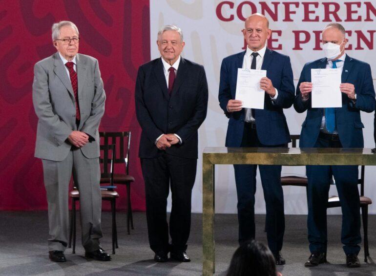 Gobierno de México firma convenio con la ONU para comprar medicamentos yvacunas
