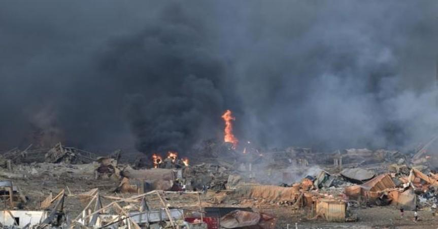 Investigación de la explosión en Beirut llevará cinco días, segúnInterior