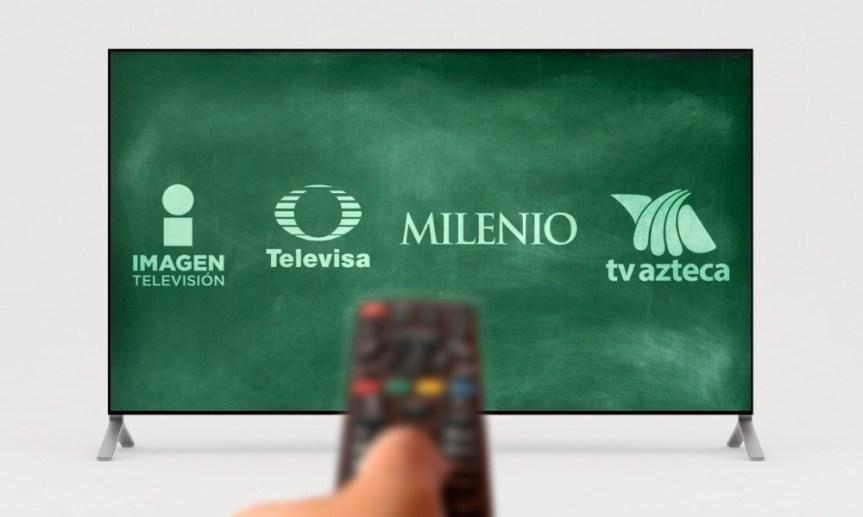 SEP pagará 450 millones de pesos a Televisa, TV Azteca, Imagen yMilenio