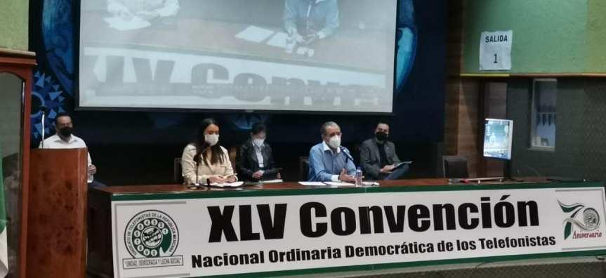Inician los trabajos de la LXV Convención de los Telefonistas en formatomixto