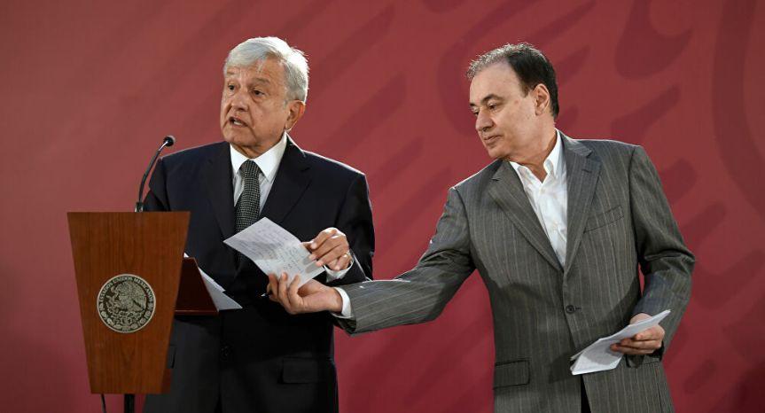 Alfonso Durazo renuncia al cargo para postularse agobernador