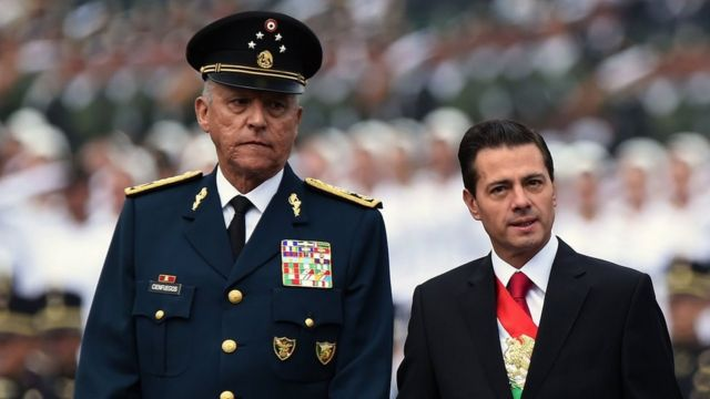"""México expresa """"profundo descontento"""" con EEUU por caso de exsecretario deDefensa"""