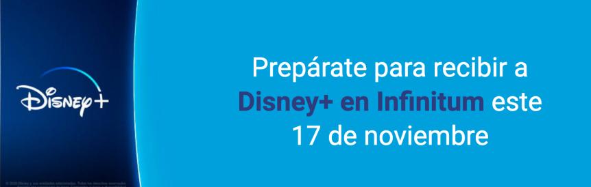 Hay ciertos paquetes en México de parte de Telmex que involucran aDisney+