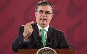 Canciller mexicano dice que el país defendió a sus Fuerzas Armadas en casoCienfuegos