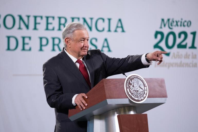 Presidente de México está satisfecho con cumplimiento de acuerdo con Pfizer porvacunas