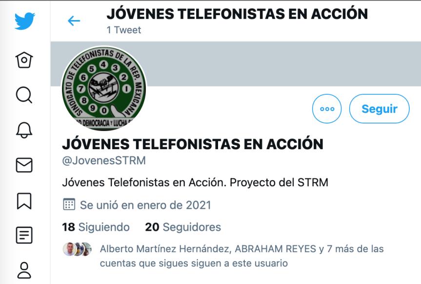 STRMnoticias. Jóvenes Telefonistas en Acción/TEMA:Twitter