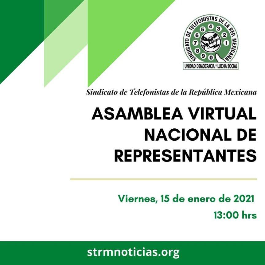 STRMnoticias: Programa informativo. 19:00 hs. Tema: ASAMBLEAVIRTUAL.