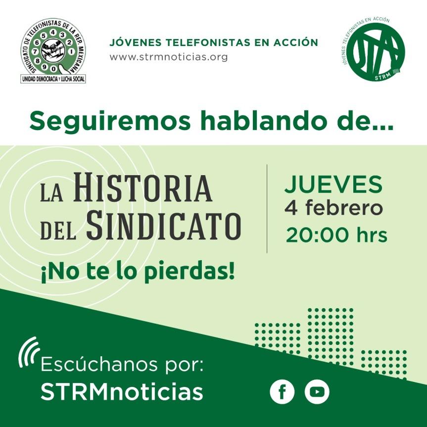 """STRMnoticias. Programa """"Jóvenes Telefonistas en Acción""""Jueves/8pm"""
