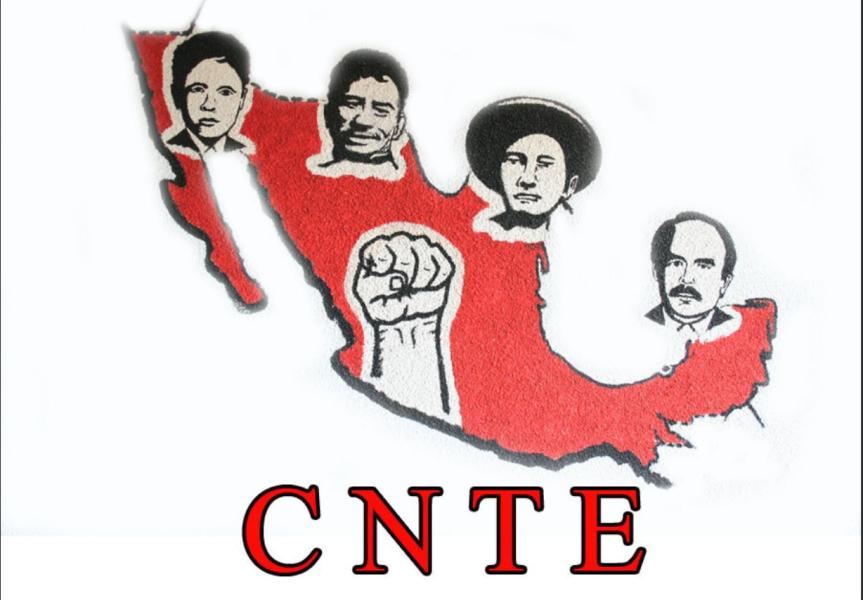 Anuncia CNTE caravana hacia laCDMX