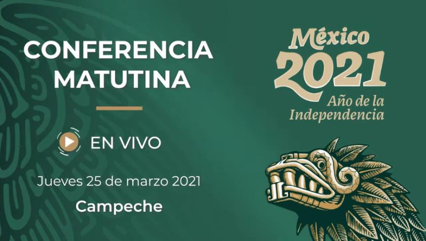 STRMnoticias_ CONFERENCIA MATUTINA DE PRESIDENCIA_25.03.2021 #STRMTV