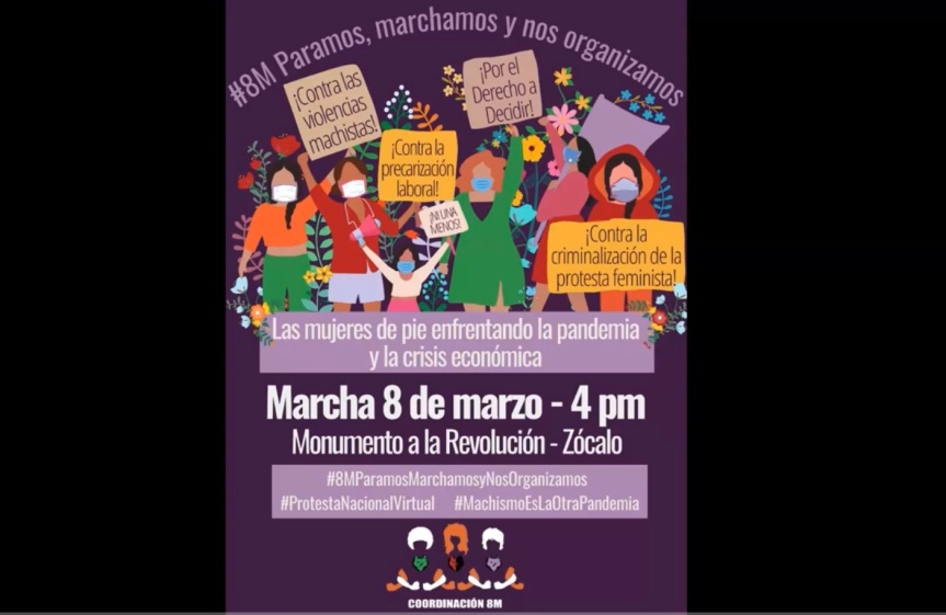STRMnoticias. Conferencia de Prensa#8M