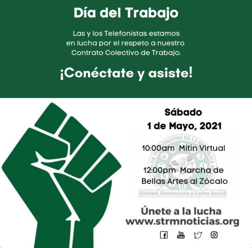 STRM. Marcha y Mitín 1º deMayo
