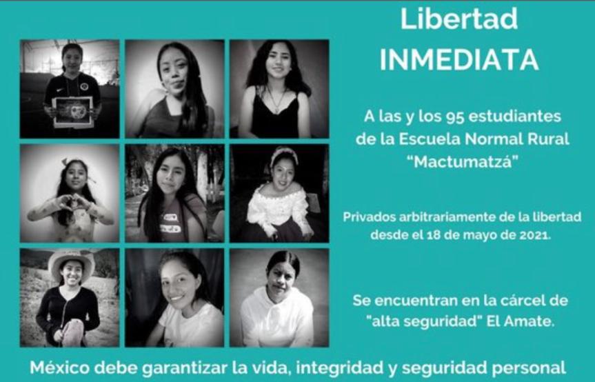 Liberados 74 de los 95 normalistas detenidos en Chiapas tras las críticas de laONU
