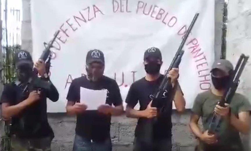 Nuevo grupo de autodefensa indígena se alza contra el crimen organizado enMéxico