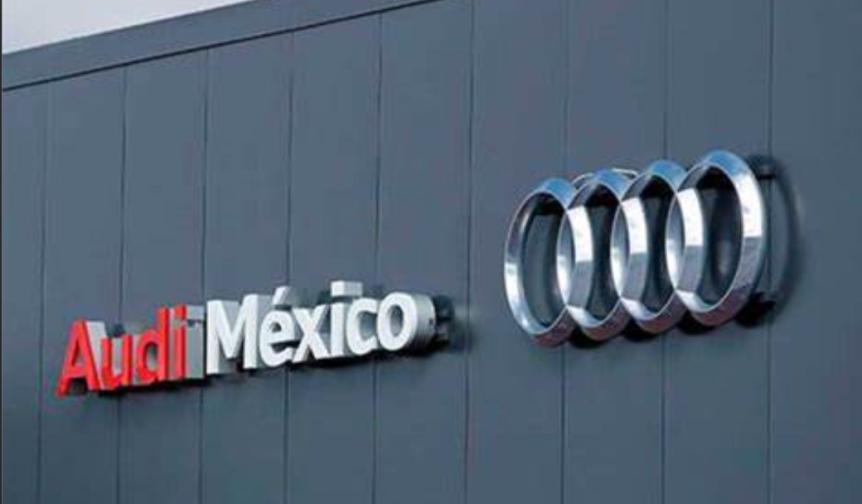 Mil 200 trabajadores de Audi México inician paro de brazoscaídos