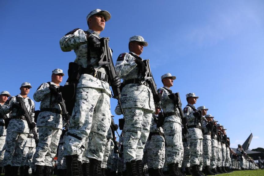 México quiere consolidar Guardia Nacional bajo la órbita de la secretaría deDefensa