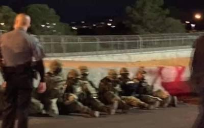 Siete militares mexicanos fueron detenidos varias horas por agentes de aduanas deEEUU